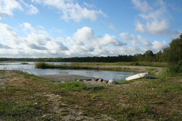 Остров Хийумаа в Эстонии