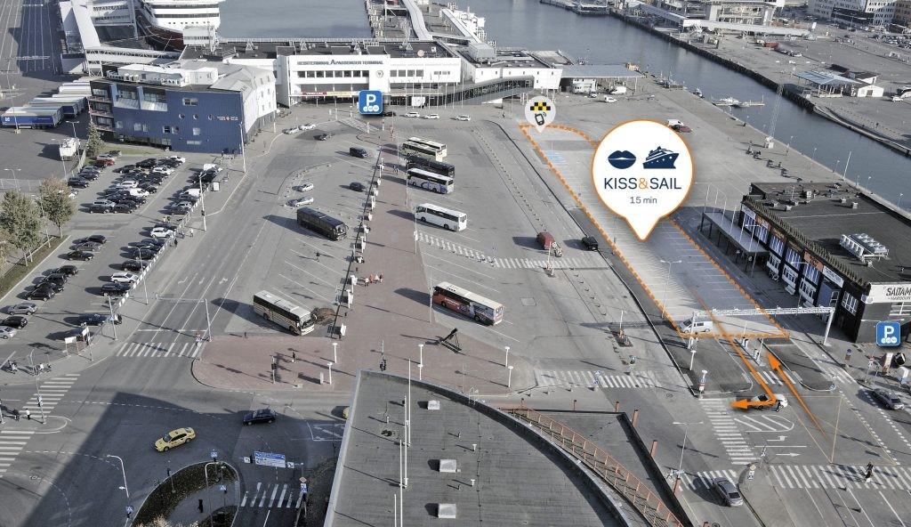 Парковка в порту Таллина