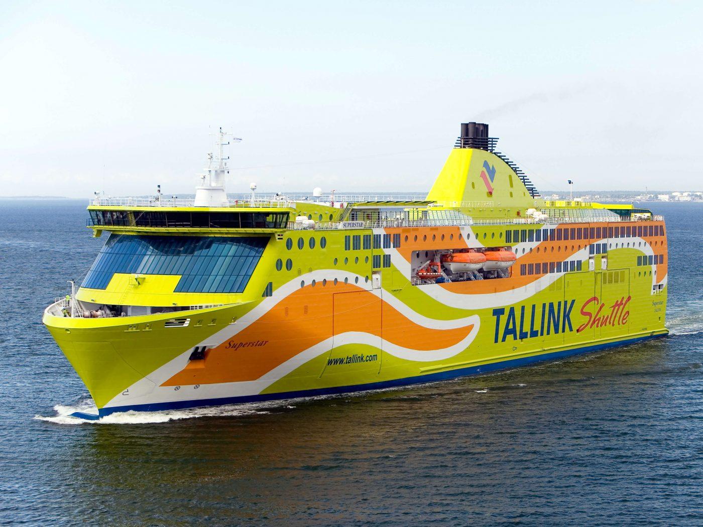 Паромы из Таллина