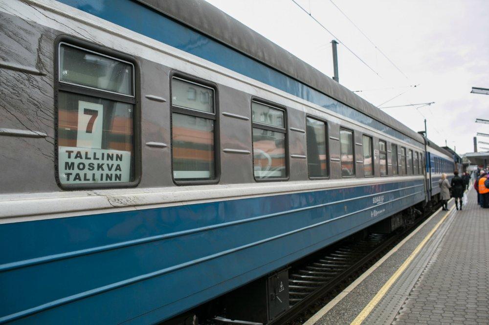 Поезд в Таллин