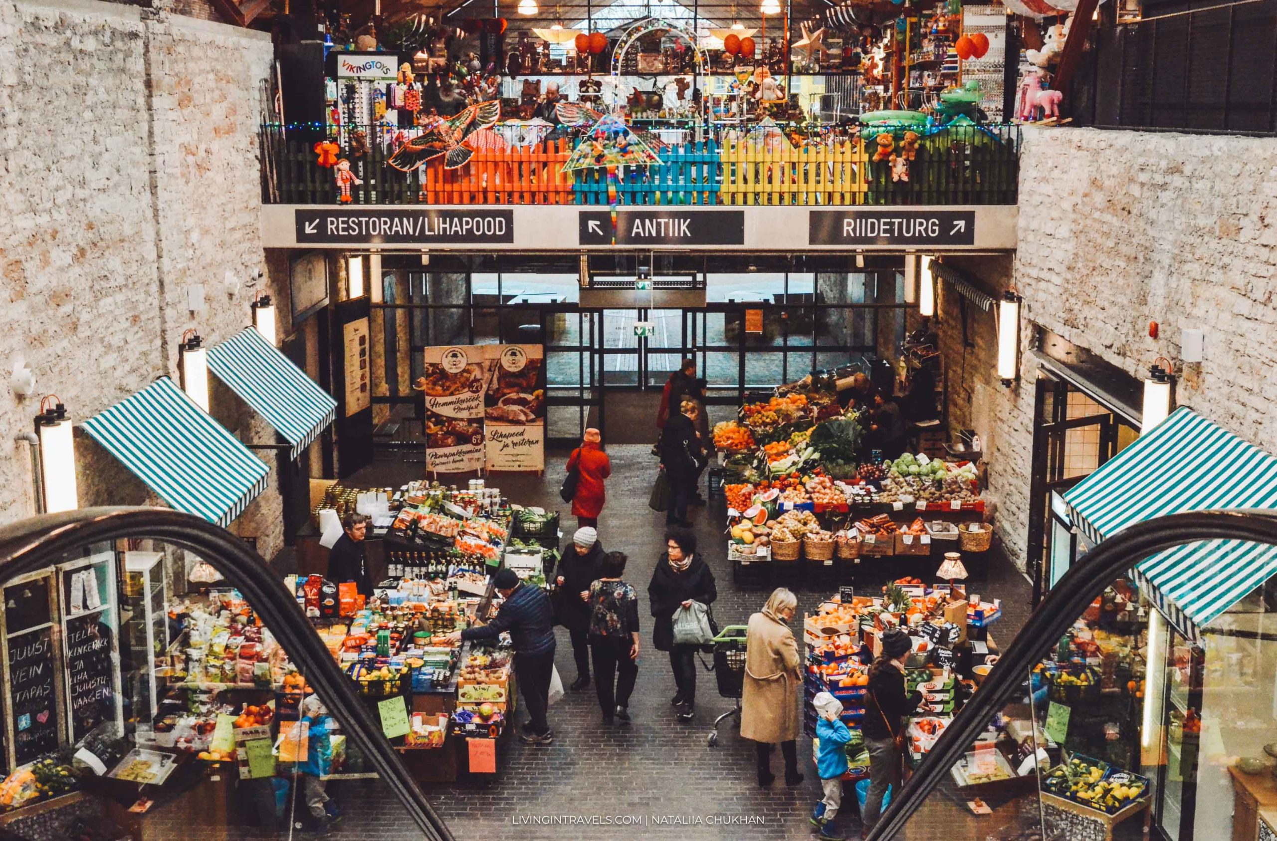 Рынки в Таллине