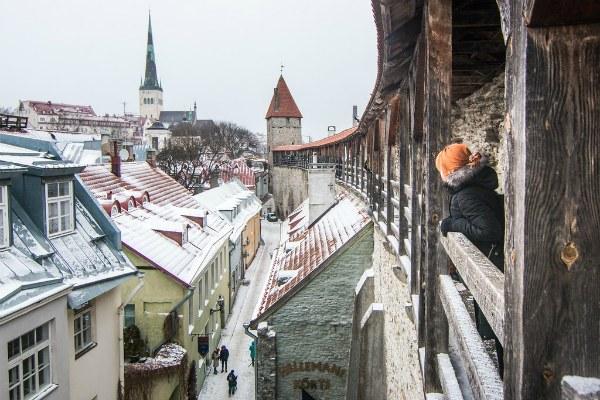 Таллин в январе