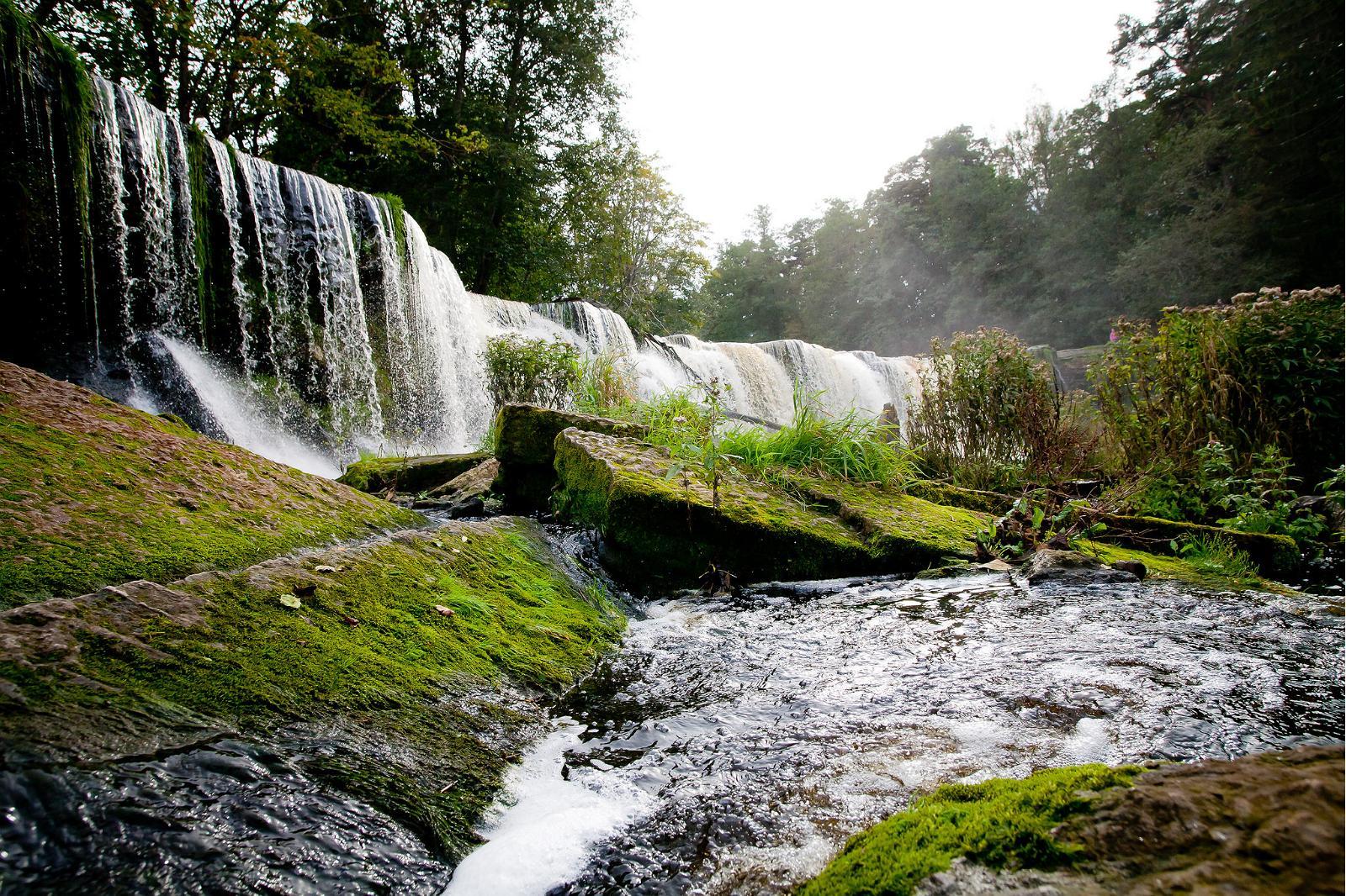 Водопад Кейла Йоа летом