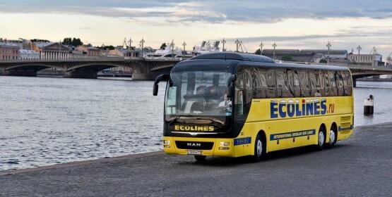 Автобусе из Санкт-Петербурга в Таллин