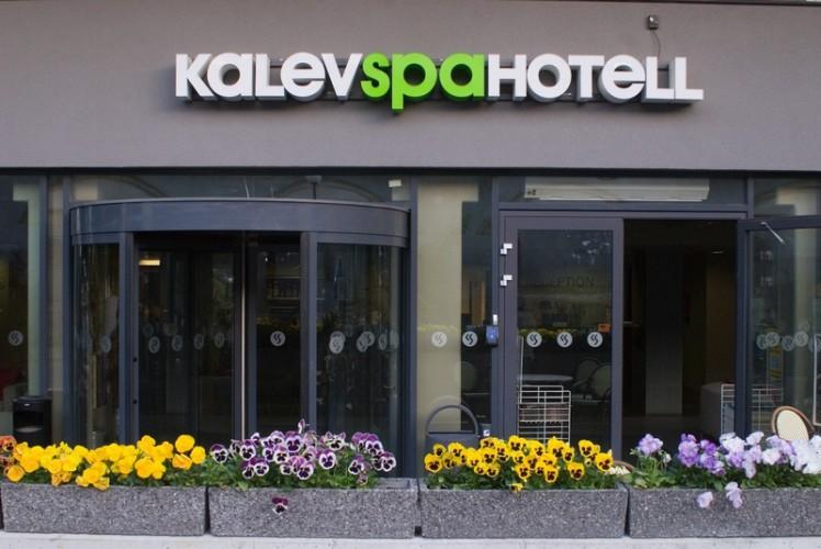 Калев Спа Отель в Таллине