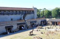 Северный двор Нарвского замка