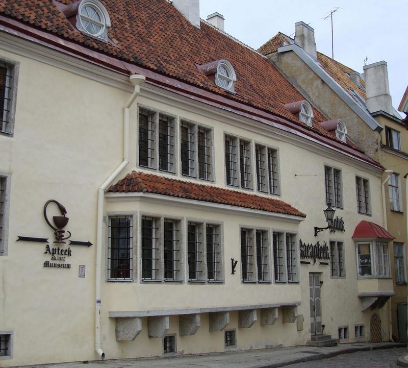 Достопримечательности Таллина: Ратушная аптека
