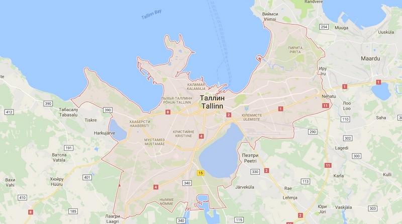 Карта Таллина на русском языке