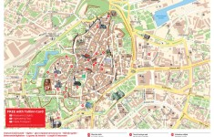 Старый город Таллина: карта центра Таллина