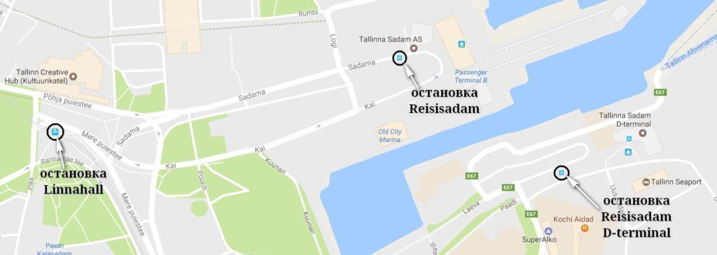 Как добраться до Таллинского порта