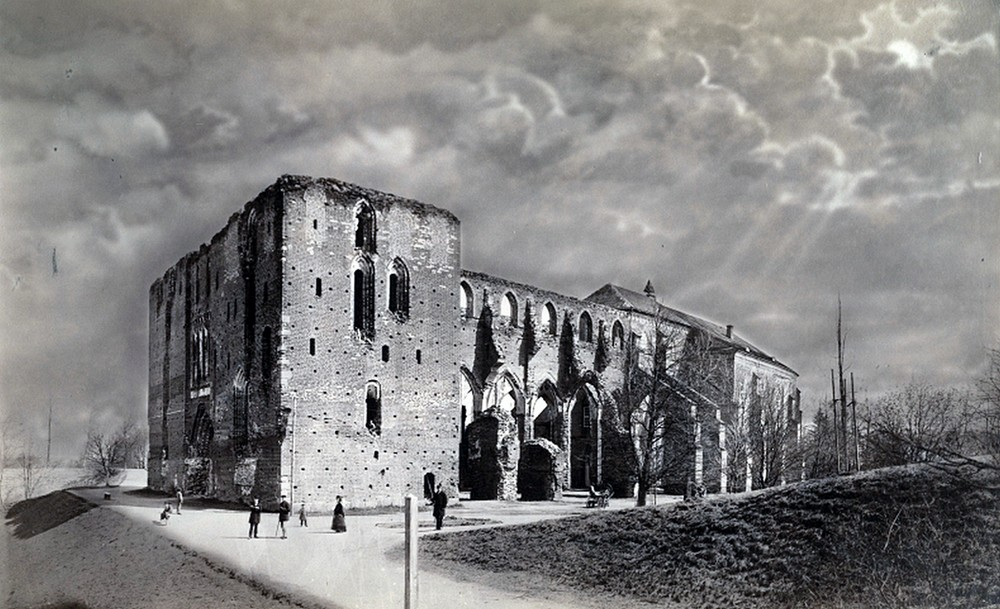 Домский собор, Тарту, 1880 год