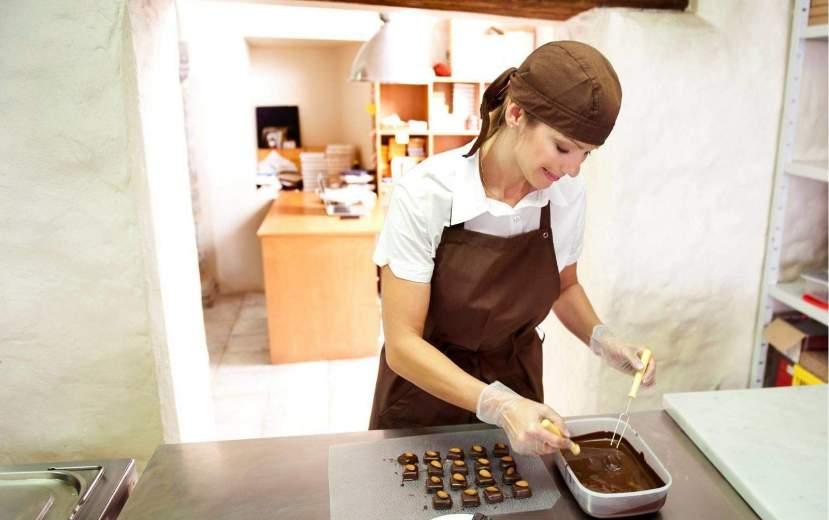 Необычные места Таллина: Anneli Viik Chocolates Café