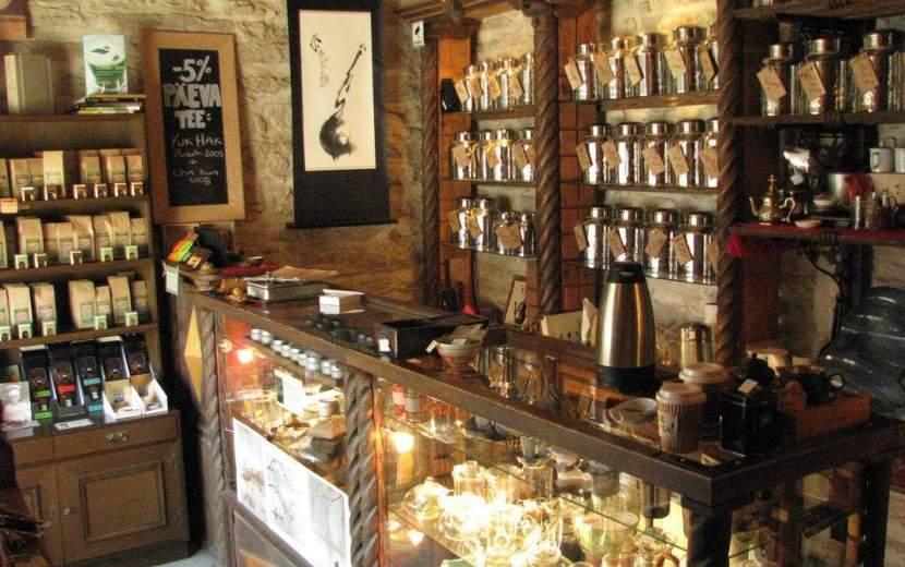 Необычные места Таллина: Chado Tea Shop