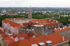 Замок Тоомпеа, Вышгород