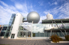 Здание Центра науки «АХХАА» в Тарту