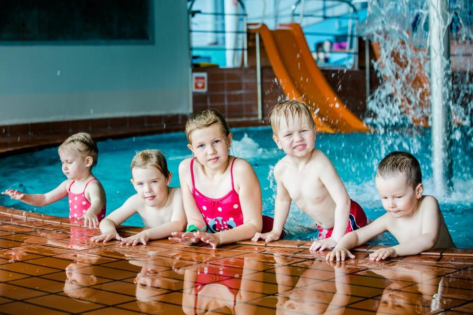 Детский бассейн аквапарка в Тарту