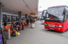 Платформы автовокзала Таллина