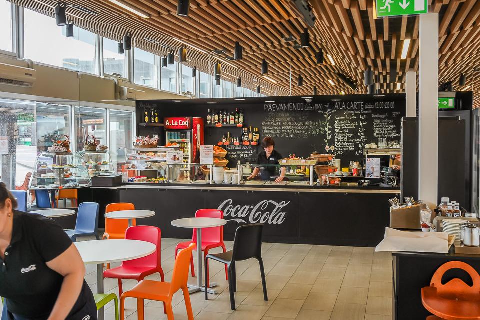 Кафе таллинского автовокзала