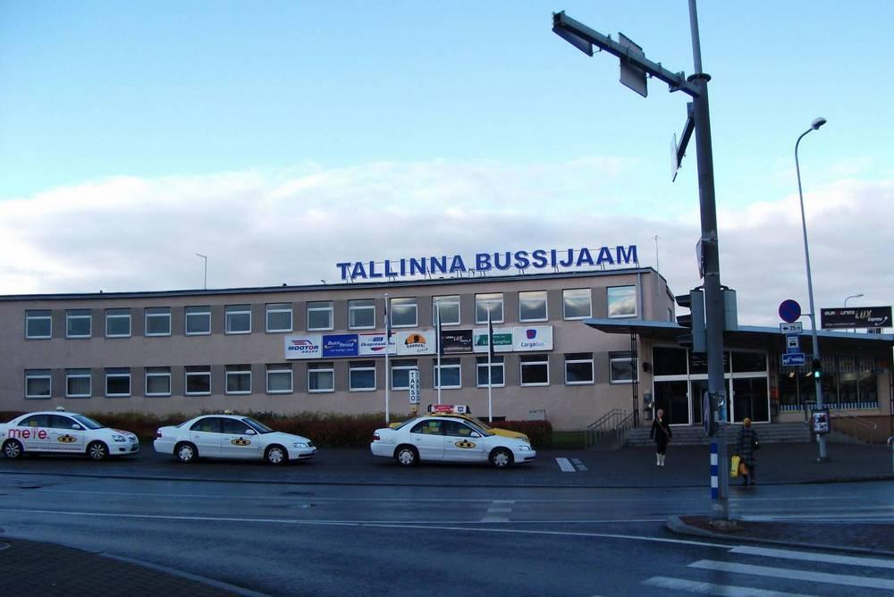 Здание Таллинского автовокзала до 2012 года