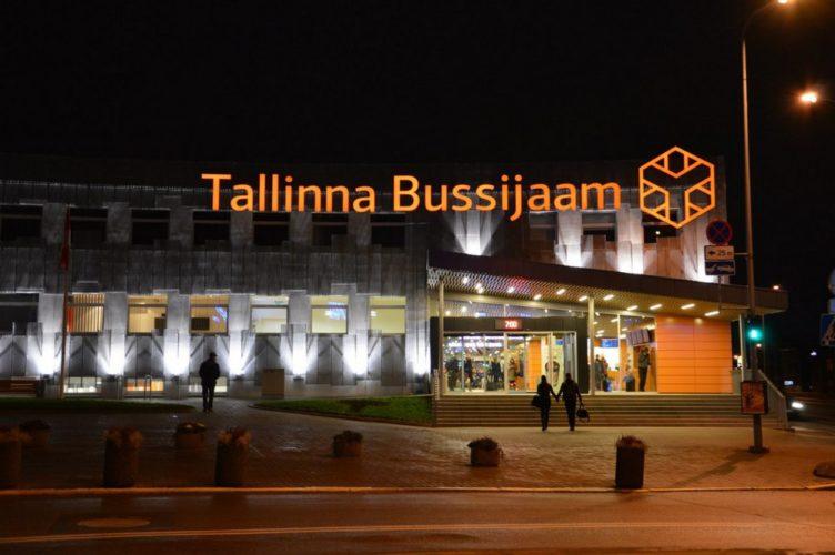 Автовокзал Таллин