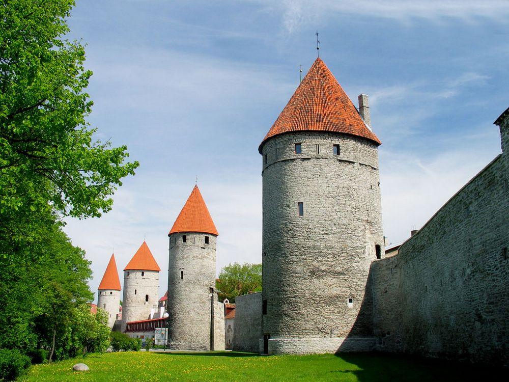 Башни Таллина