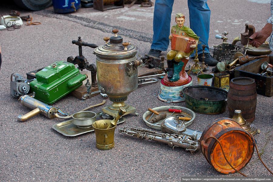 Необычные места Таллина: Блошиный рынок