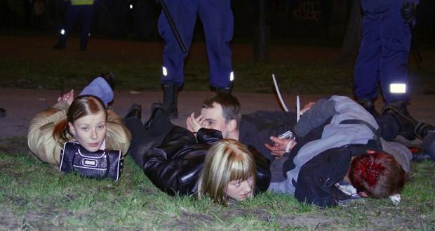 Бронзовый солдат: беспорядки 2007 года