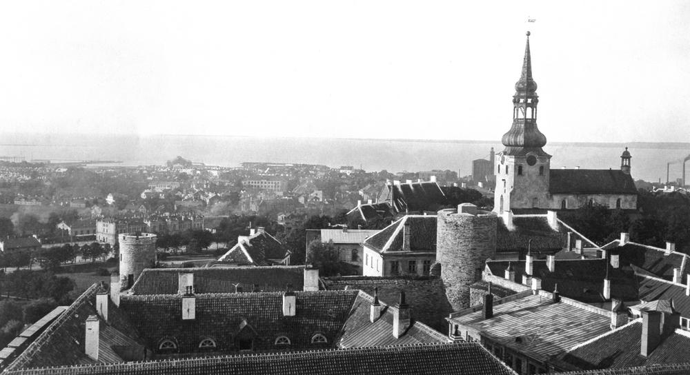Домский собор, Таллин, 1920 год