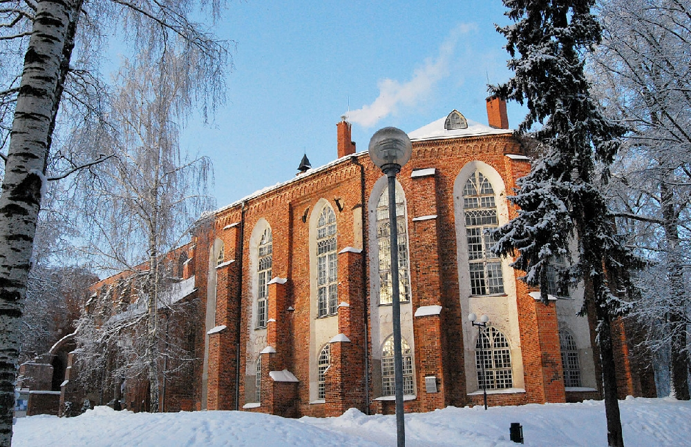Домский сбор в Тарту: Исторический музей университета Тарту