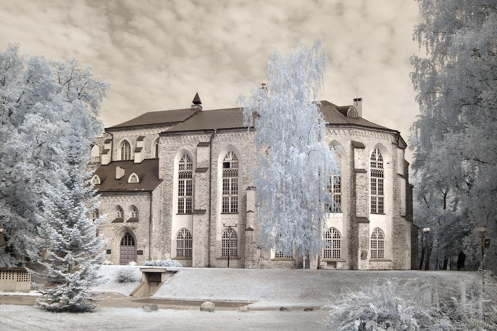 Домский собор в Тарту: фото реконструкция