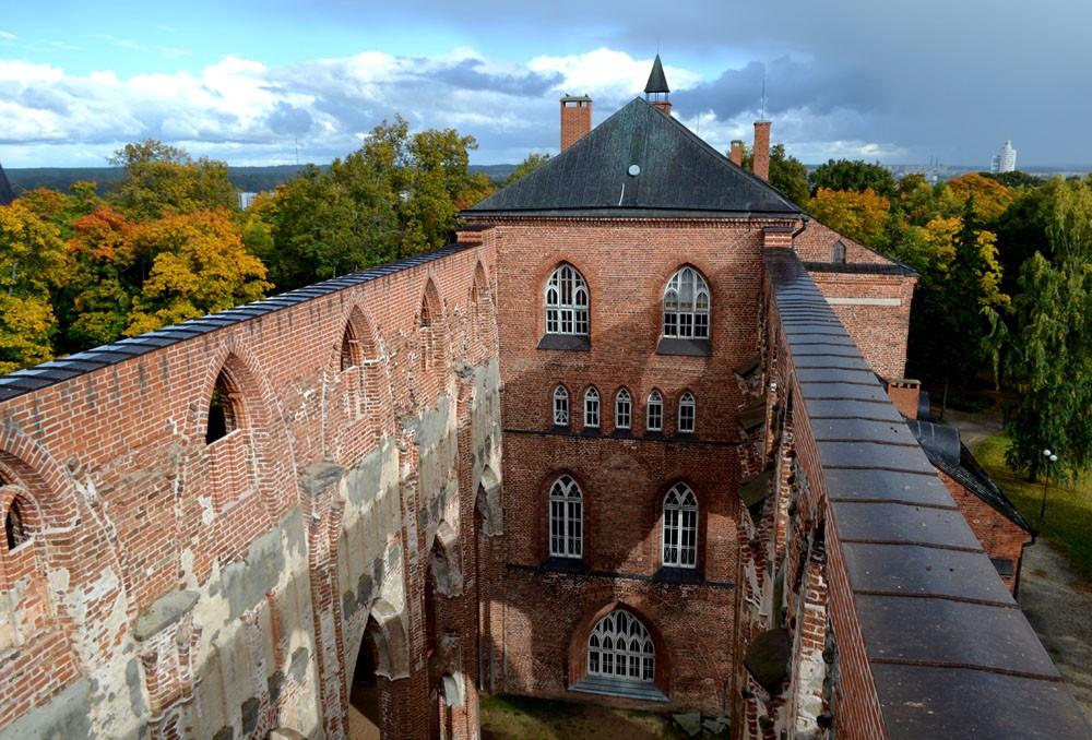 Смотровая площадка Домского собора Тарту