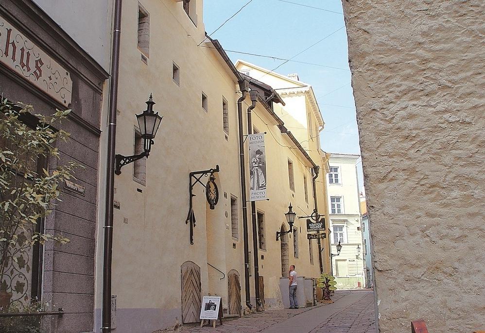 Таллинский фото музей на Ратушной площади