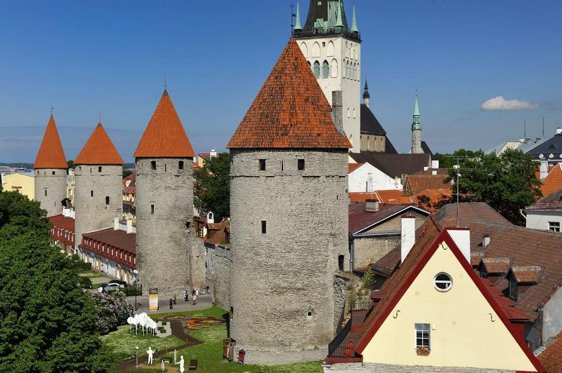 Смотровые площадки Таллина: городская стена