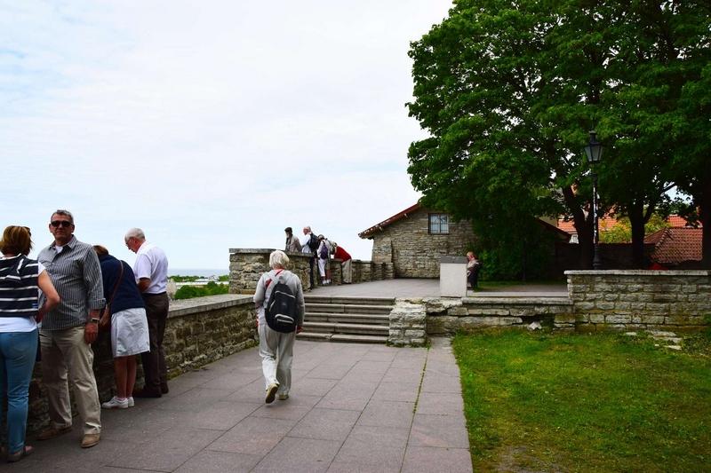 Смотровые площадки Таллина: холм Тоомпеа