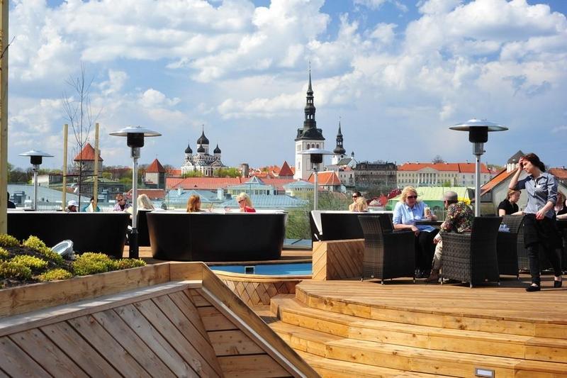 Смотровые площадки Таллина: Кафе Komeet