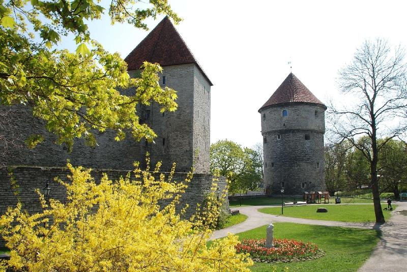 Комендантский сад, Вышгород, Таллин