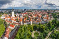 Крепостная стена и башни Таллина
