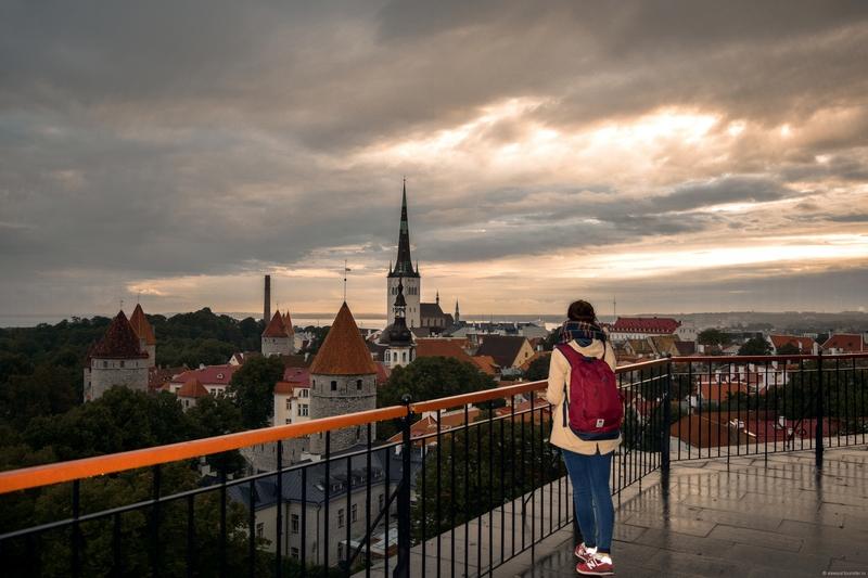 Смотровые площадки Таллина: Лестница Паткуля