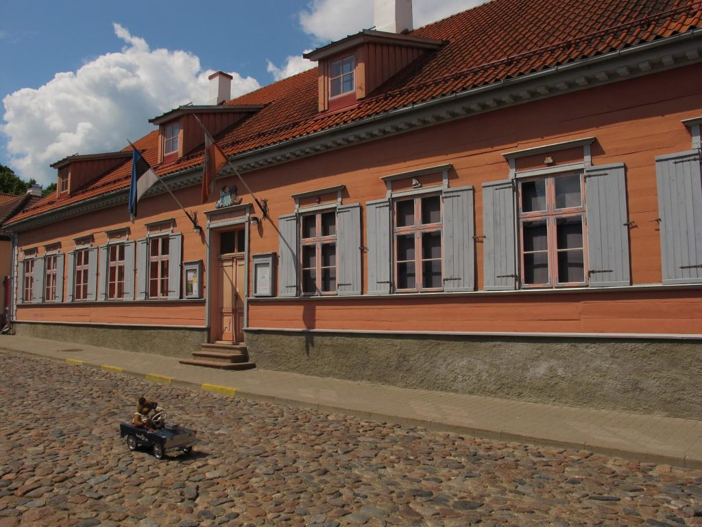 Здание музея игрушек в Тарту