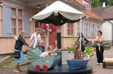 Тартуский музей игрушек: дворик
