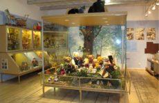 Внутренняя экспозиция музея игрушек Тарту
