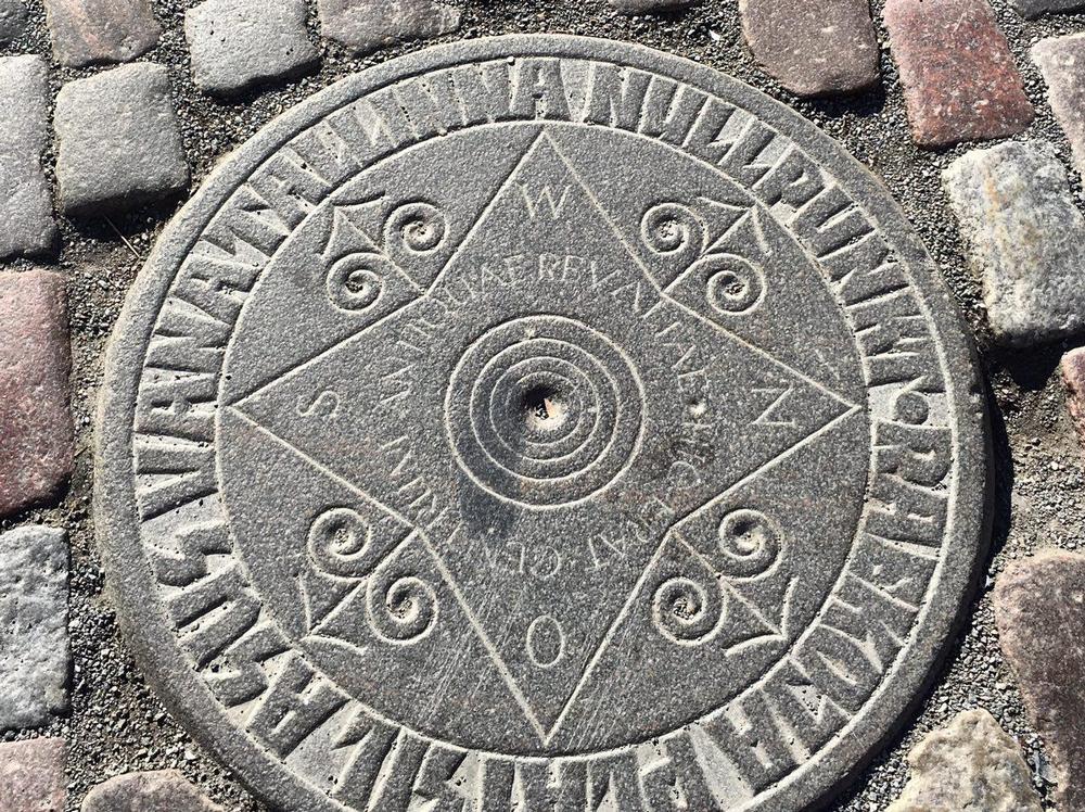 Нулевой километр в Таллине
