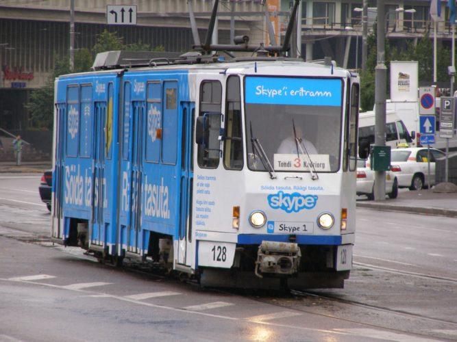 Общественный транспорт Таллина