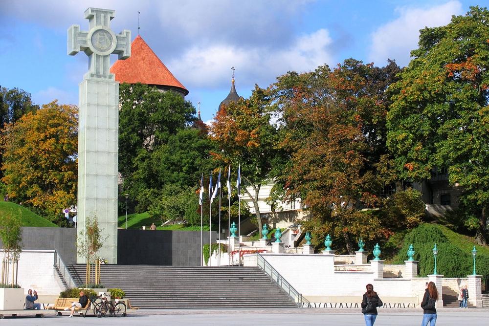 Монумент победы в Освободительной войне в Таллине