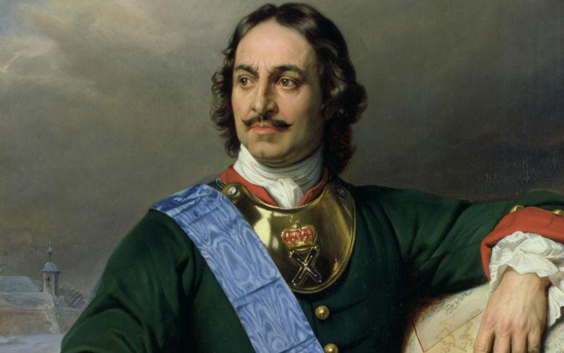 Первый Император Всероссийский Петр I
