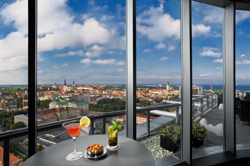 Смотровые площадки Таллина: Отель Radisson Blu