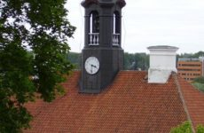 Тартуская ратуша, часы