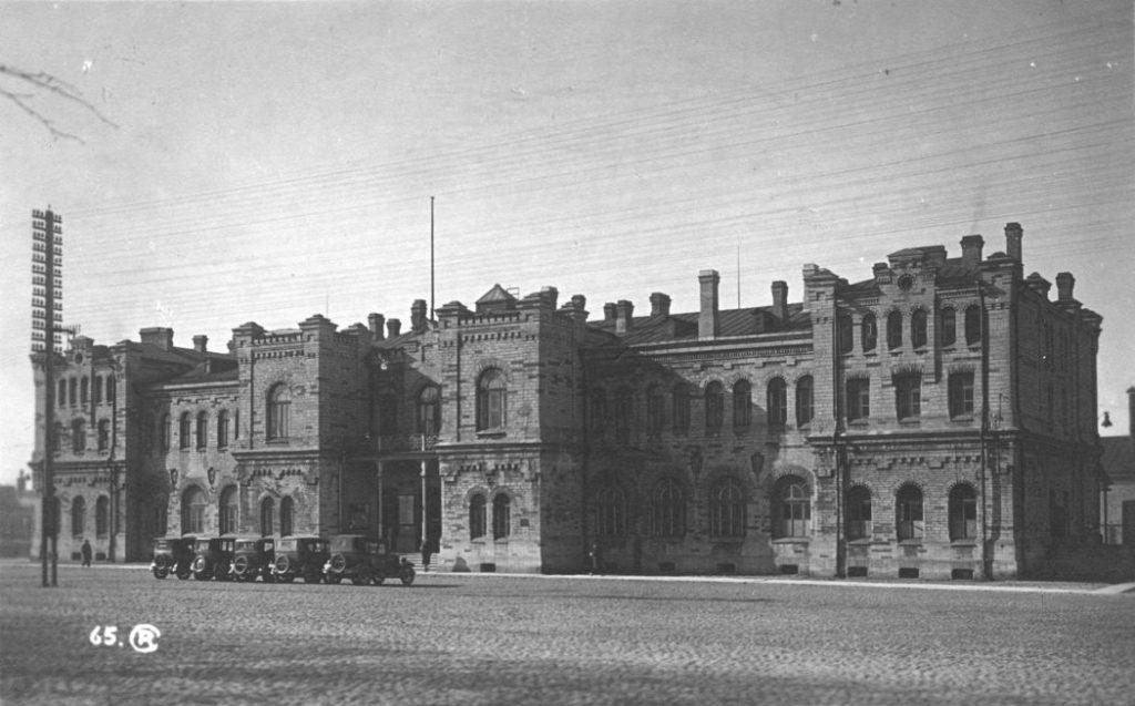 Балтийский вокзал Таллина в 1935 году