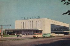 Балтийский вокзал Таллина в 1968 году