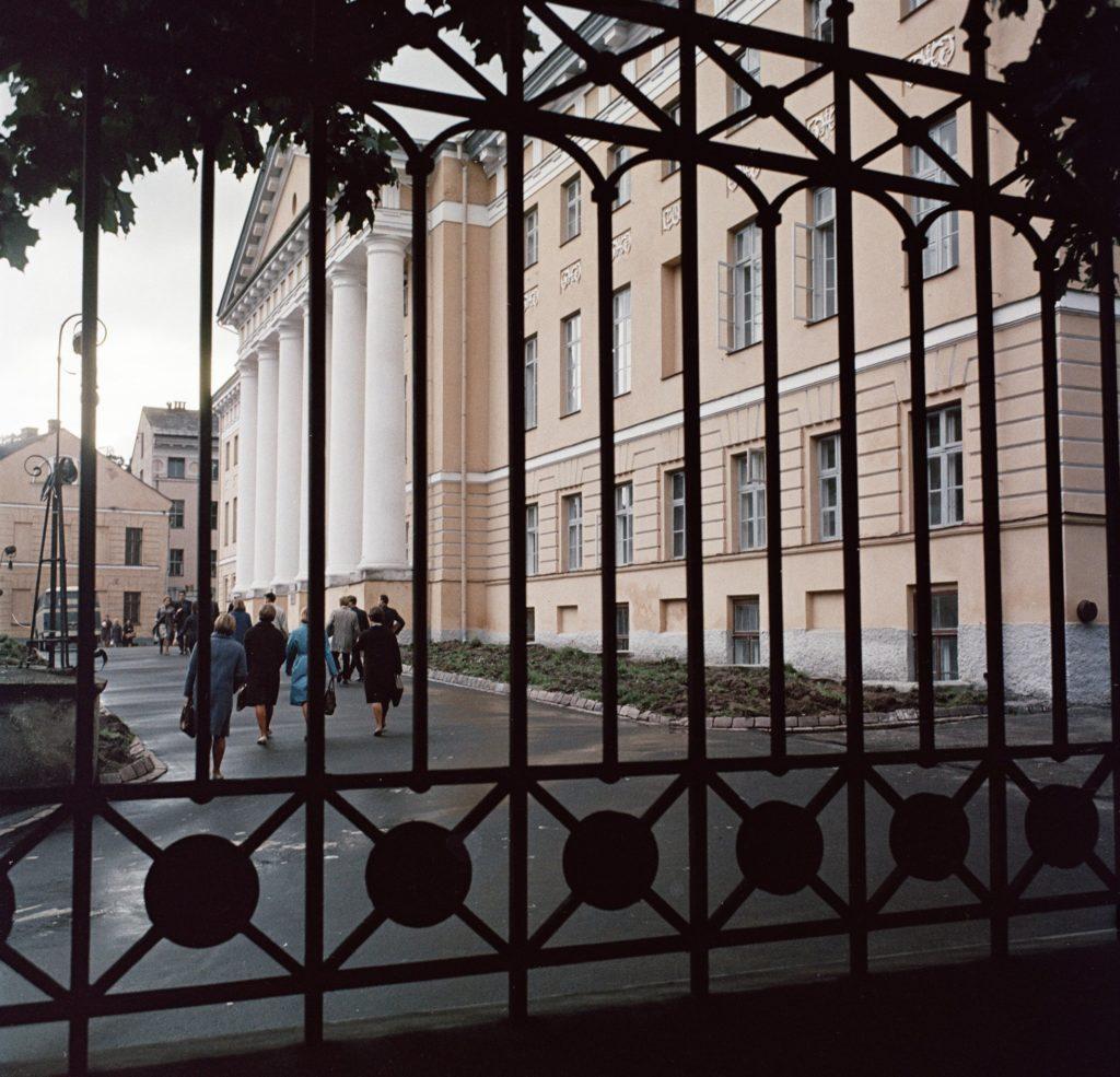 Главный корпус Тартуского университета, 1966-1976 гг